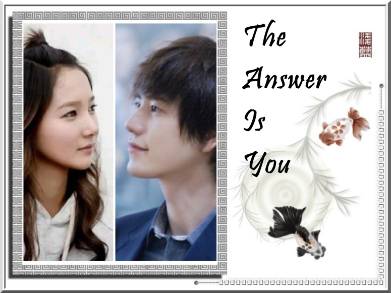 the answer is you 2